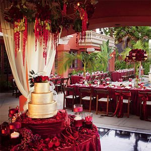 red wedding decorations reception casamento vermelho 7032